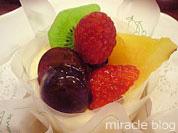 千疋屋フルーツパーラーのケーキセット